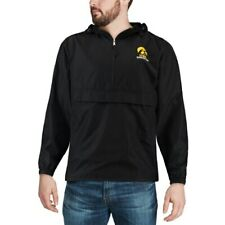 Champion Iowa Hawkeyes Black Packable Jacket