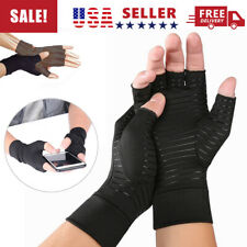 Support Arthritic Joint Pain Relief Copper Arthritis Fit Compression Gloves Hand