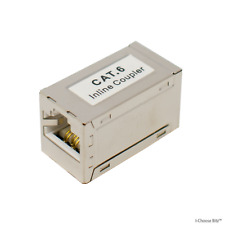 Cat5e Cat6 CAT6A RJ45 Coupler Ethernet LAN Extender Adapter for Network Cable