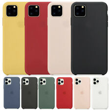 For APPLE Genuine SILICONE Case iPhone 11 Pro Max XS XR 7 8 Liquid Rubber Cover