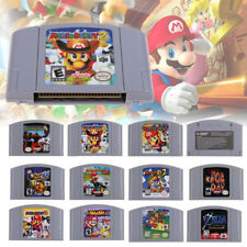 US Card For N64 Mario Smash Bros Mario Party Game Cartridge Console for Nintendo