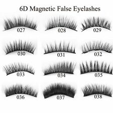 4Pcs Triple Magnetic False Eyelashes Extension Tools Full Coverage Lashes Thick!