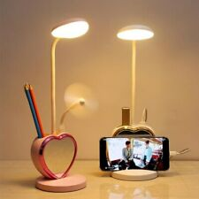 0-100% Touch Dimmable Led Desk Lamp USB Rechargeable Adjustment for Children