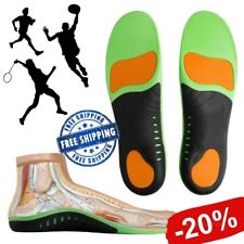 Superfeet GREEN Insoles Professional High Arch Orthotic Insert Sizes:XS/S/M/L/XL