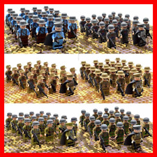 WW2 Military Soldiers Figures Building Blocks Toys German Japan Army US 21pcs