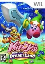 Kirby's Return to Dream Land - Authentic Nintendo Wii Game