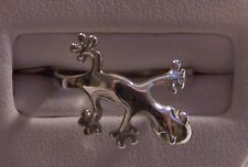 SALE! Silver Gecko Ring -Matches lizard Pendant Also For Sale - Get The Set!