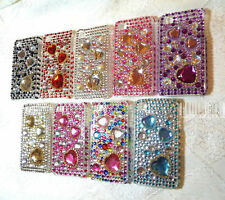 Heart Rhinestone Bling back cover case iphone 4G