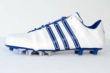 Adidas Scorch 8 Superfly White & Blue Low Football Cleats Mens NEW