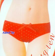 Super Low Waist Cotton Polka Dot Panty W/ Mesh Front