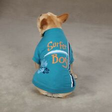 "Casual Canine Surf's Up Dog Tee Shirt ""Surfer Boy"""