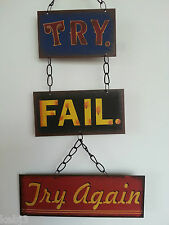 METAL PLAQUES  Retro & Vintage Style Various Fun Quotes