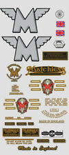 1957-58: Matchless Decals -RESTORERS FULL DECAL SET