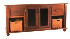 Amish Plasma LCD TV Stand Solid Wood Television Shaker