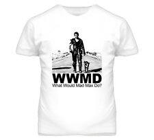 What Would Mad Max Do Mel Gibson Movie Retro T Shirt