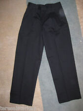 Boys IZOD Pants 4 5 16 18 20 22 husky black navy khaki flat pleated NEW