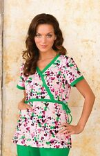 NEW KOI KATHRYN, BRIDGETTE DESIGNER SCRUB TOPS NURSING UNIFORMS 2 POCKETS