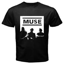 New MUSE Popular Alternative Rock Band Mens Black T-Shirt Size S - 3XL
