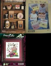 Country Cross-Stitch  Counted Cross-Stitch Pattern  Assorted Designs