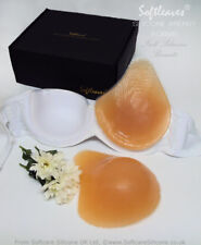 Softleaves ReelLook Silicone Breast Forms Bra Enlargment Not Breast Prosthesis