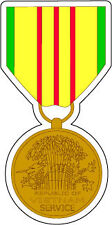 STICKER MILITARY MEDAL Vietnam Service