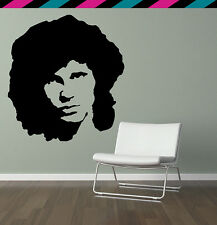 Jim Morrison The Doors classic rock strange days wall decal sticker tattoo