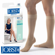 Womens Compression UltraSheer Knee High Stockings 8-15 mmhg Therapeutic Supports