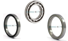 BEARINGS 6800 - 6809 2RS ZZ (OPEN)
