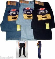 MENS AZTEC TOUGH STRAIGHT REGULAR FIT WORK /CASUAL /SMART JEANS W28 TO W50 PANTS