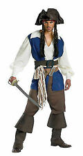 Pirates of the Caribbean Captain Jack Sparrow Deluxe Teen Adult Mens Costume