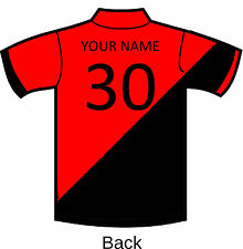 Cricket Tour Shirts FINDEN HALES personalised Team polo shirt