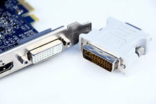 DVI-I Dual Link Male 24+5 to VGA Female Adapter for Graphic Card wholesale lot