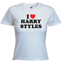 I Love Harry Styles T Shirt - You Can Choose Any Name