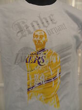 NWT NBA Adidas Los Angeles Lakers Kobe Bryant Screened Photo Tee -Youth S - XL