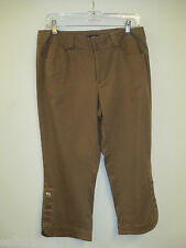Kial Capris/Cropped Pants Available in Black and Tan Colors Size 8  RP $104.00