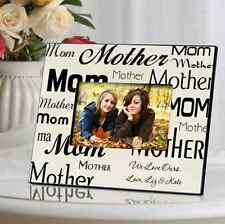 MOM OR DAD - PERSONALIZED FRAME - BEAUTIFUL! Mother Father CUSTOM! - Free Ship