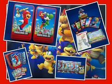 Official Super Mario Bros.Wii Sealed Trading card collectors Tin @ MrsMario's