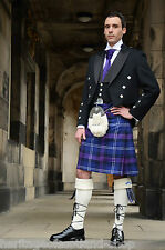 Scottish Luxury 12 Piece Prince Charlie Kilt Outfit Great Quality And Feel