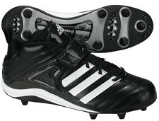 ADIDAS GRID IRON 3/4 D FOOTBALL CLEATS (352748) BLACK/WHT - NEW