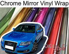 【Mirror Chrome】Vehicle Wrap Vinyl Sticker【1.52Meter width】LARGE SIZE Air Free