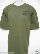 NAVY CORPSMAN FMF T-SHIRT / FRONT PRINT ONLY ON LEFT BREAST/ DEVIL DOC