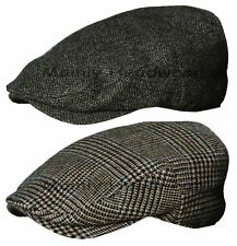 STETSON 100% WOOL IVY Cap Gatsby Mens Newsboy Hat Golf Gray Driving Flat m l xl