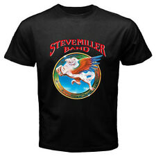 New The Steve Miller Band *ABRACADABRA* Rock Band Mens Black T-Shirt Size S-3XL