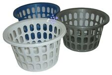 Laundry Basket Plastic Washing Basket Perfect For Small Clothes 29 x 18 cm
