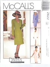 UNCUT McCalls Sewing Pattern Misses Lined Dress Jacket Skirt 2622 NEW OOP FF SEW