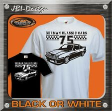 T-Shirt Oldtimer Youngtimer Manta B 1975 1,9 2,0 GT/E 400 Ford Opel BMWusw.