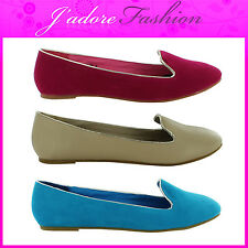 NEW LADIES SUMMER BEACH FLAT BALLET DOLLY BALLERINA PUMPS LOAFERS SIZES UK 3-8