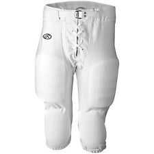 Rawlings F2545 Youth Game Football Pants with snaps- Shiny