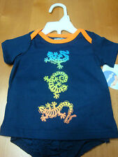 2PC INFANT/BABY BOYS BABIES R US LIZARD OUTFIT   SIZES 3/6 & 6/9 MONTHS  NWT