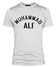 OFFICIAL MUHAMMAD ALI FLOAT LIKE A BUTTERFLY T SHIRT GYM TOP  MENS VEST ALL SIZE